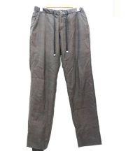 TOMORROWLAND(トゥモローランド)の古着「イージーウールパンツ」|グレー