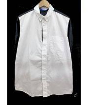 BEKPRO(ベクプロ)の古着「切替シャツ」|ネイビーホワイト