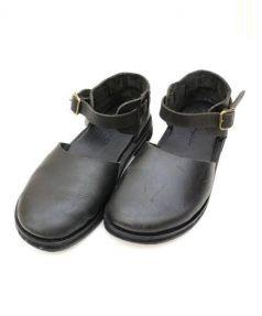 minan polku(ミナンポルク)の古着「レザーサンダル」|ブラック