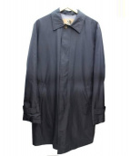 SEALUP(シーラップ)の古着「ステンカラーコート」 ブラック