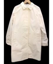 oblekt(オブレクト)の古着「ステンカラーコート」|ホワイト