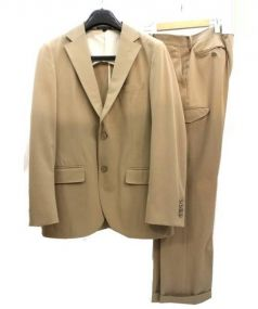 MACKINTOSH PHILOSOPHY(マッキントッシュ フィロソフィー)の古着「トロッターセットアップスーツ」|ベージュ