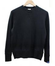 LOOPWHEELER(ループウィラー)の古着「クルーネックスウェット」|ブラック