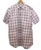 eYe COMME des GARCONS JUNYAWATANABE MAN(アイコムデギャルソン・ジュンヤワタナベマン)の古着「半袖シャツ」 トリコロールカラー