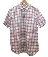 eYe COMME des GARCONS JUNYAWATANABE MAN(アイコムデギャルソン・ジュンヤワタナベマン)の古着「半袖シャツ」|トリコロールカラー