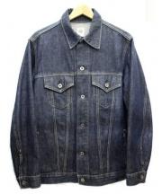 POST OALLS(ポストオーバーオールズ)の古着「デニムジャケット」|インディゴ