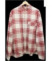 SUNSEA(サンシー)の古着「LECTER's Check Shirt」|レッド×ベージュ