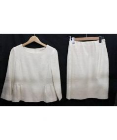 STRAWBERRY FIELDS(ストロベリーフィールズ)の古着「セットアップブラウス」|ホワイト