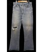 LEVI'S VINTAGE CLOTHING(リーバイス ヴィンテージ クロージング)の古着「ヴィンテージ加工デニムパンツ」|インディゴ