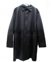 346 BROOKS BROTHERS(ブルックス ブラザーズ)の古着「ライナー付ステンカラーコート」|ブラック