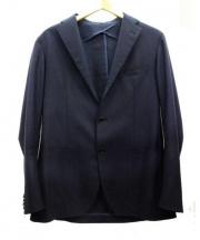 TAGLIATORE(タリアトーレ)の古着「アンコンジャケット」|ネイビー