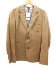 FACTOTUM(ファクトタム)の古着「2Bジャケット」 ベージュ
