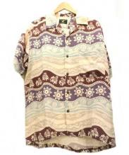 HASBEEN(ハズビーン)の古着「アロハシャツ」|ネイビー×ホワイト