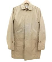 DELUXE(デラックス)の古着「ライナー付ステンカラーコート」|ベージュ