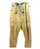 KAPITAL(キャピタル)の古着「バスオーバーオール」 カーキ