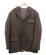 ARTHUR'S BEING(アーサーズ・ビーイング)の古着「ツイードウールジャケット」|ブラウン