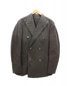 BOGLIOLI(ボリオリ)の古着「ストレッチコットンダブルジャケット」