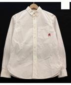 Hysteric Glamour(ヒステリックグラマー)の古着「ワンポイントシャツ」|ホワイト