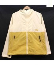 THE NORTH FACE(ザノースフェイス)の古着「コンパクトジャケット」|ホワイト×マスタード