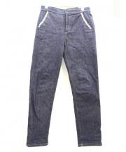 leur logette(ルルロジェッタ)の古着「テーパードデニムパンツ」|インディゴ