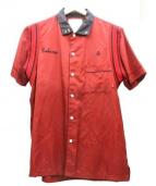 WTAPS(ダブルタップス)の古着「ボーリングシャツ」|レッド×ブラック