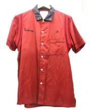 WTAPS(ダブルタップス)の古着「ボーリングシャツ」 レッド×ブラック