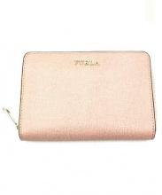 FURLA(フルラ)の古着「BABYLON M ZIP AROUND WALLET」|ピンク