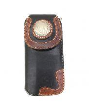 RED MOON(レッドムーン)の古着「レザー長財布」