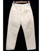 Sally Scott(サリースコット)の古着「テーパードパンツ」|ホワイト