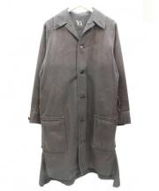Y's(ワイズ)の古着「ステンカラーコート」 ブラック