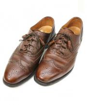 SCOTCH GRAIN(スコッチグレイン)の古着「ウィングチップブーツ」 ブラウン