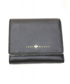 TORY BURCH(トリーバーチ)の古着「3つ折り財布」|ブラック