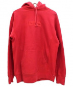 SUPREME(シュプリーム)の古着「Tonal Box Logo Pullover」|レッド