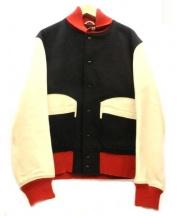 Golden Bear×Engineered Garments(ゴールデンベアー×エンジニアドガーメンツ)の古着「ショートハンタージャケット」|ブラック×ベージュ