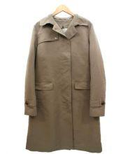 Paul Stuart(ポール スチュアート)の古着「ライナー付ステンカラーコート」|ブラウン