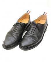 THOM BROWNE(トム ブラウン)の古着「メダリオンシューズ」 ブラック