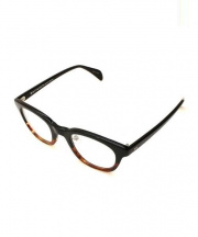 BEAUTY&YOUTH×KANEKO OPTICAL(ビューティアンドユース×金子眼鏡)の古着「伊達眼鏡」 ブラック×ブラウン