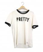 WACKO MARIA(ワコマリア)の古着「リンガーTシャツ」|ホワイト×ブラック