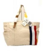 DOUBELELOOP(ドーベルループ)の古着「帆布トートバッグ」|ベージュ