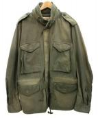 Denim & Supply Ralph Lauren(デニムアンドサプライ ラルフローレン)の古着「ヴィンテージ加工M65ジャケット」|カーキ