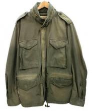 Denim & Supply Ralph Lauren(デニムアンドサプライ ラルフローレン)の古着「ヴィンテージ加工M65ジャケット」 カーキ