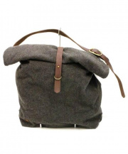 SUNSET CRAFTSMAN(サンセットクラフツマン)の古着「ロールトップショルダーバッグ」|グレー
