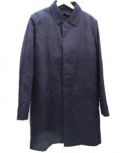 A.P.C.(アーペーセー)の古着「ボアライナー付ステンカラーコート」|ネイビー