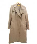 MOTOMACHI Zelal(モトマチゼラール)の古着「カシミヤコート」|ベージュ