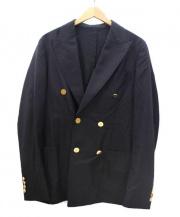 NEW&LINGWOOD(ニュー&リングウッド)の古着「ダブルジャケット」 ネイビー