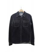 FLAT HEAD(フラットヘッド)の古着「デニムシャツ」|インディゴ