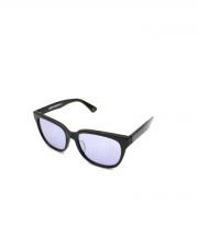 UNIFORM EXPERIMENT×金子眼鏡(ユニフォームエクスペリメント×カネコメガネ)の古着「コラボサングラス」 ブラック×ブルー