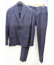 LARDINI(ラルディーニ)の古着「3Bセットアップスーツ」|ネイビー