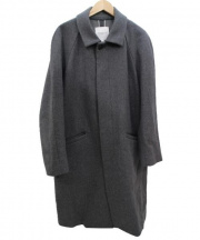 URBAN RESEARCH(アーバンリサーチ)の古着「ステンカラーコート」|グレー