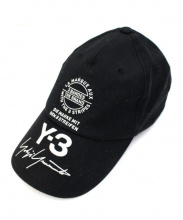 Y-3(ワイスリー)の古着「ストリートキャップ」|ブラック